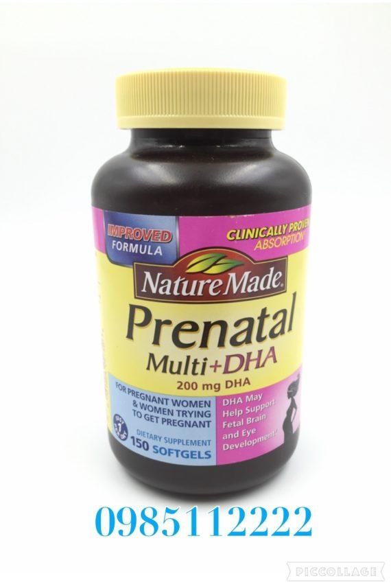 Prenatal vitamine tổng hợp bà bầu