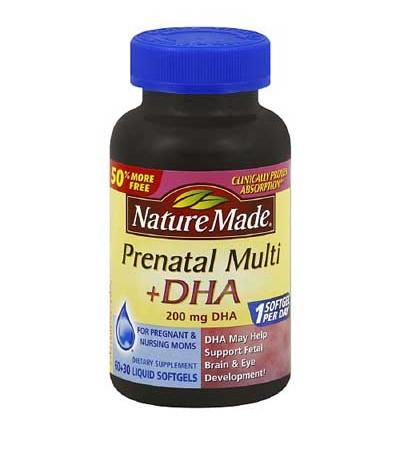 Prenatal Multi + DHA