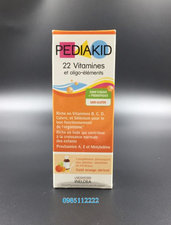 Pedia kid 22 Vitamines