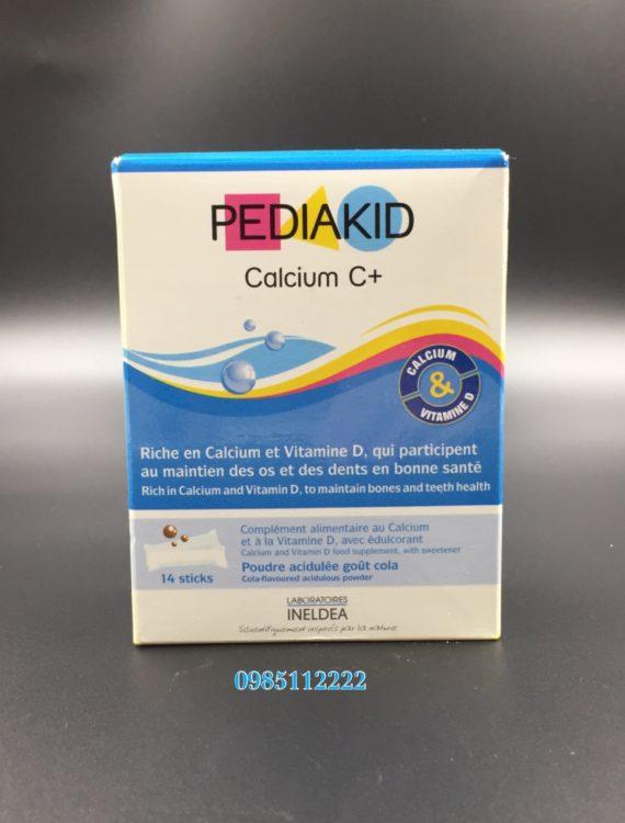 pediakid calcium tăng chiều cao