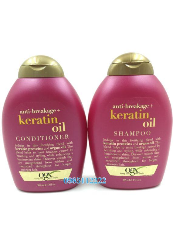 OGX keratin oil