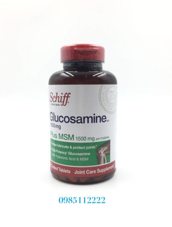 Schiff Glucosamine Plus MSM 1500mg