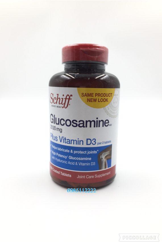 Glucosamine 2000Mg plus Vitamine D3