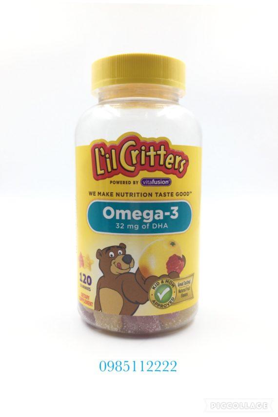 Kẹo bổ sung omega Li'lCritter 120v
