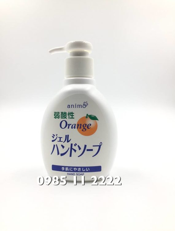 Nước rửa tay khử trùng kháng khuẩn Animo (Nhật)