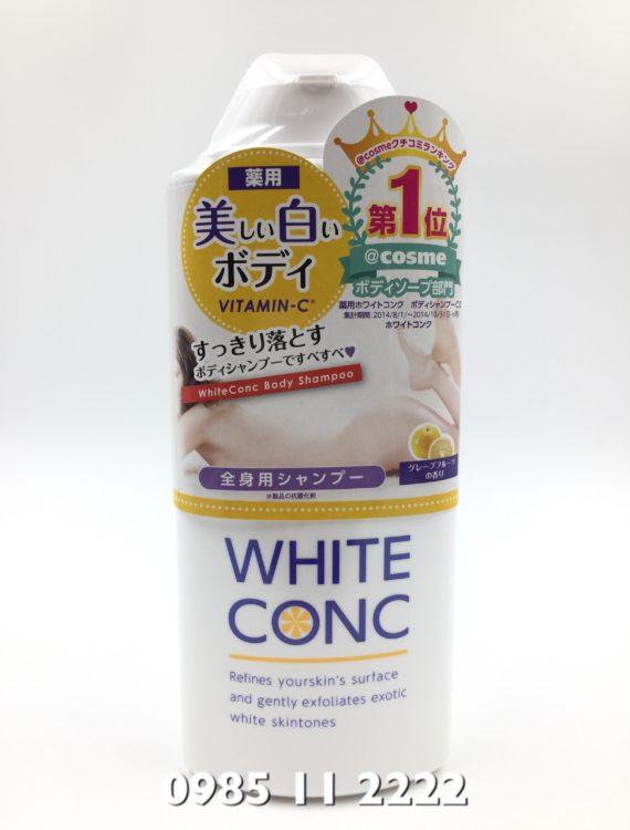 sữa tắm white conc